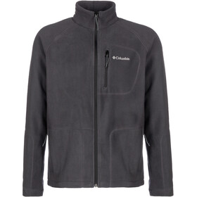Columbia Fast Trek II Fleece Jack Doorlopende Rits Heren, shark/black